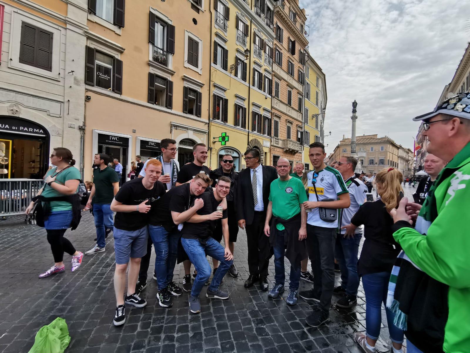Rom Auswärts